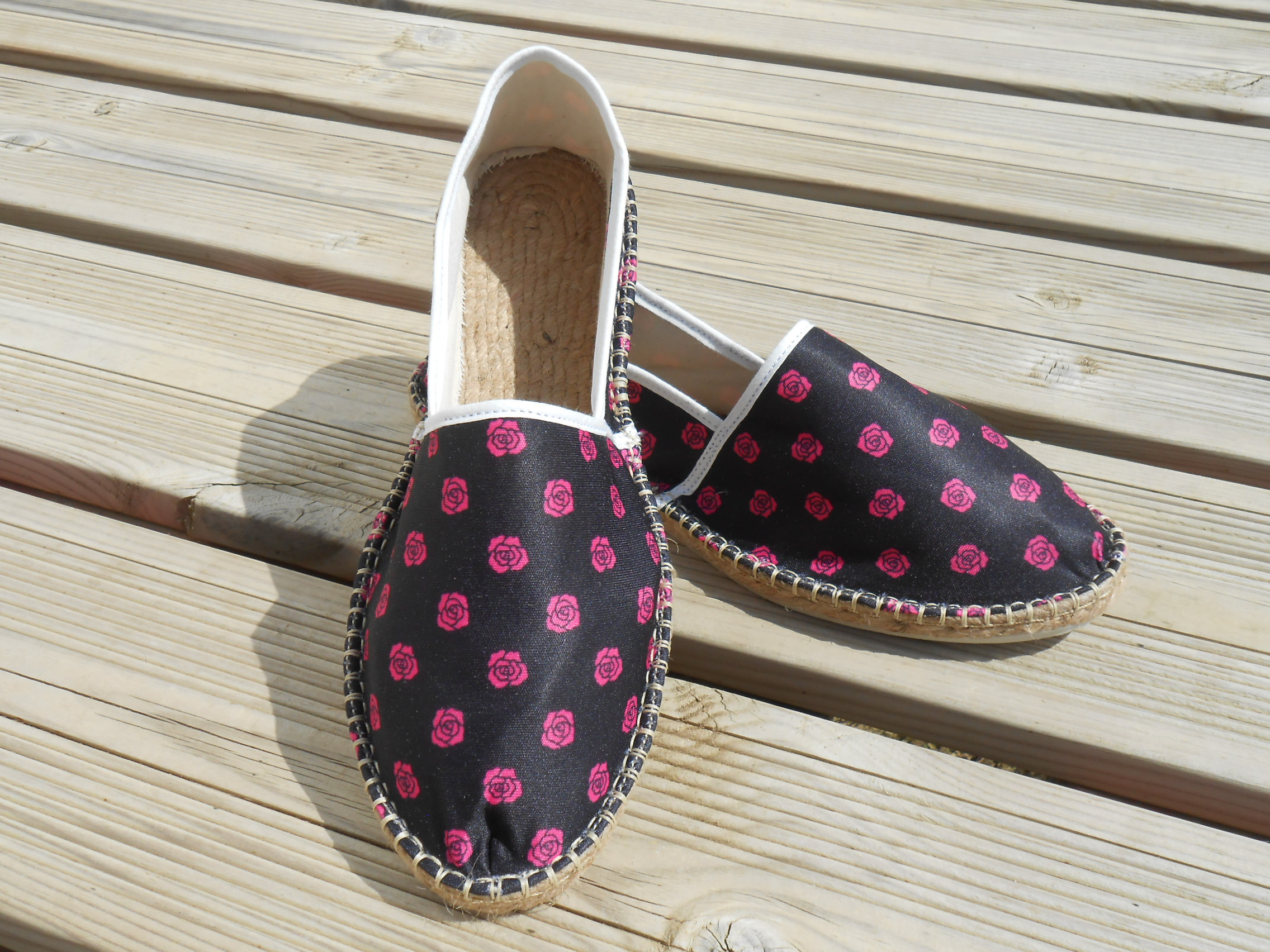 Espadrilles baroques taille 47