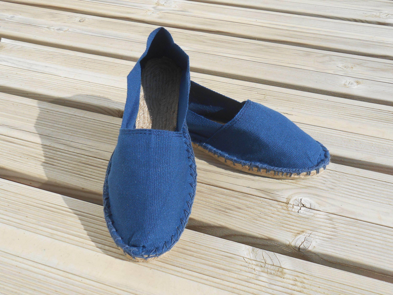 Espadrilles bleu indigo taille 42