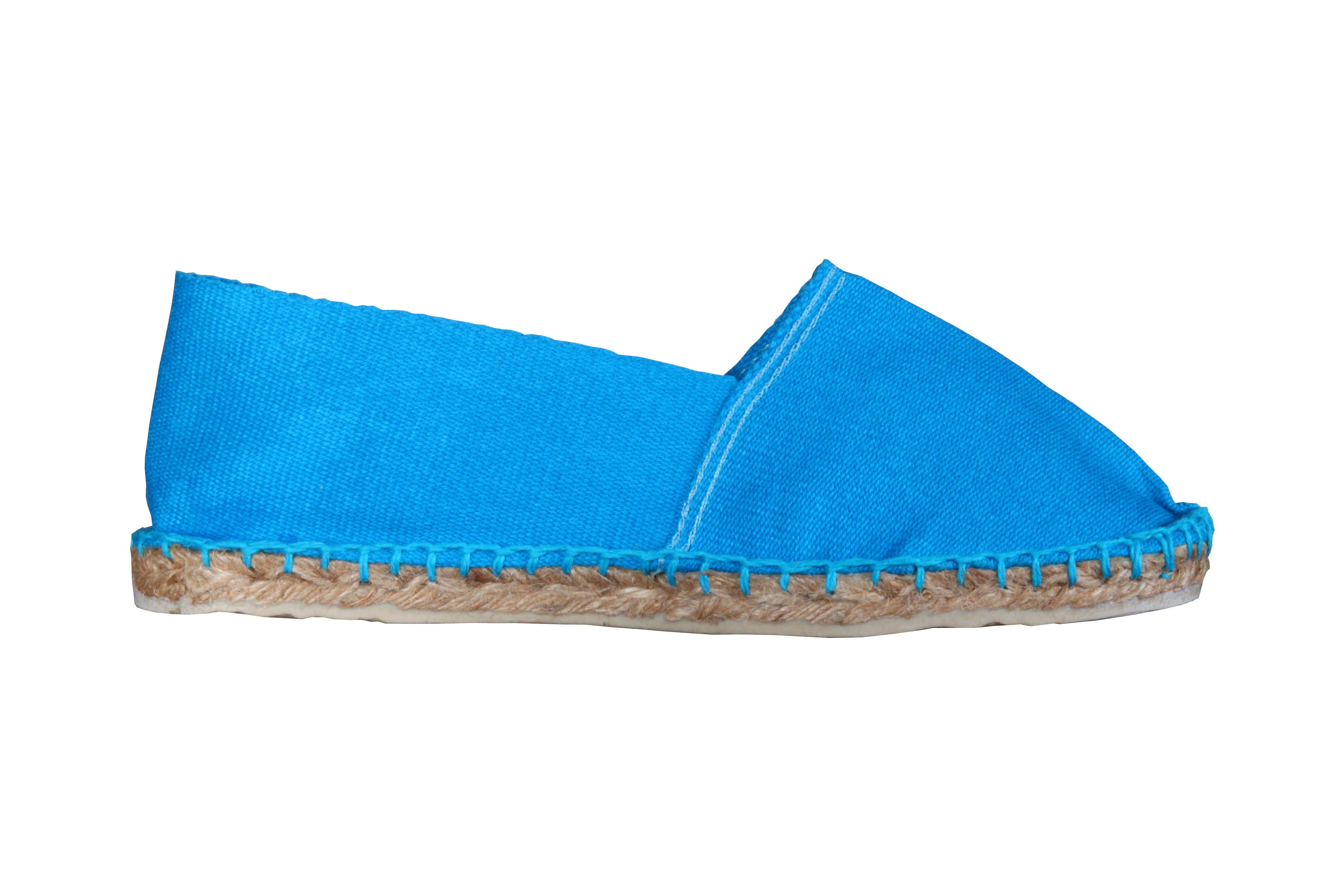 Espadrilles turquoise