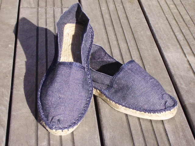 Espadrilles jeans taille 45