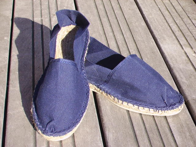 Espadrille bleu marine taille 42