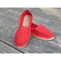 Espadrilles rouges taille 39