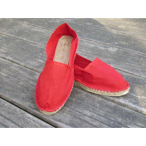 Espadrilles rouges taille 42