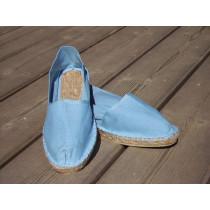 Espadrilles bleu ciel taille 45