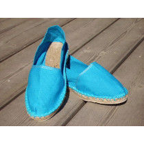 Espadrilles turquoise taille 39