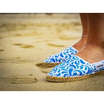 Espadrille Biarritz fabriquée en France