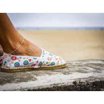 Espadrille Liberty fabriquée en France