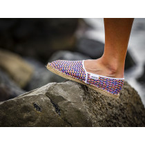 Espadrille triangle fabriquée en France