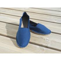Espadrilles bleu indigo taille 44