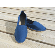 Espadrilles bleu indigo taille 45