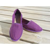 Espadrilles basques violette taille 40