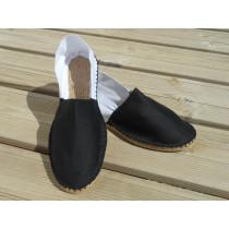 Espadrilles bicolores noires et blanches taille 36