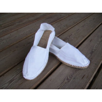 Espadrilles blanches taille 47