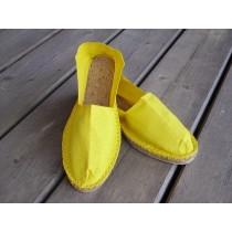 Espadrilles jaunes taille 46