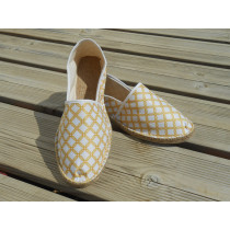 Espadrilles geometric gold taille 40