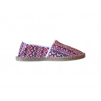 Espadrilles geometric pink taille 43