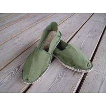 Espadrilles kaki taille 39