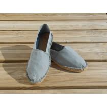 Espadrilles grises taille 47