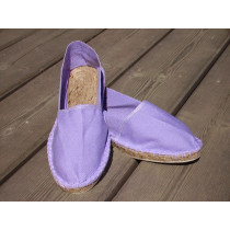 Espadrilles lilas taille 46