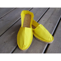 Espadrilles jaunes taille 43