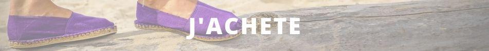 Acheter espadrille violette